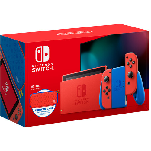 miniature 13 - Nintendo Switch Gaming Console Bundle with Super Mario 3D World + Bowser's Fury