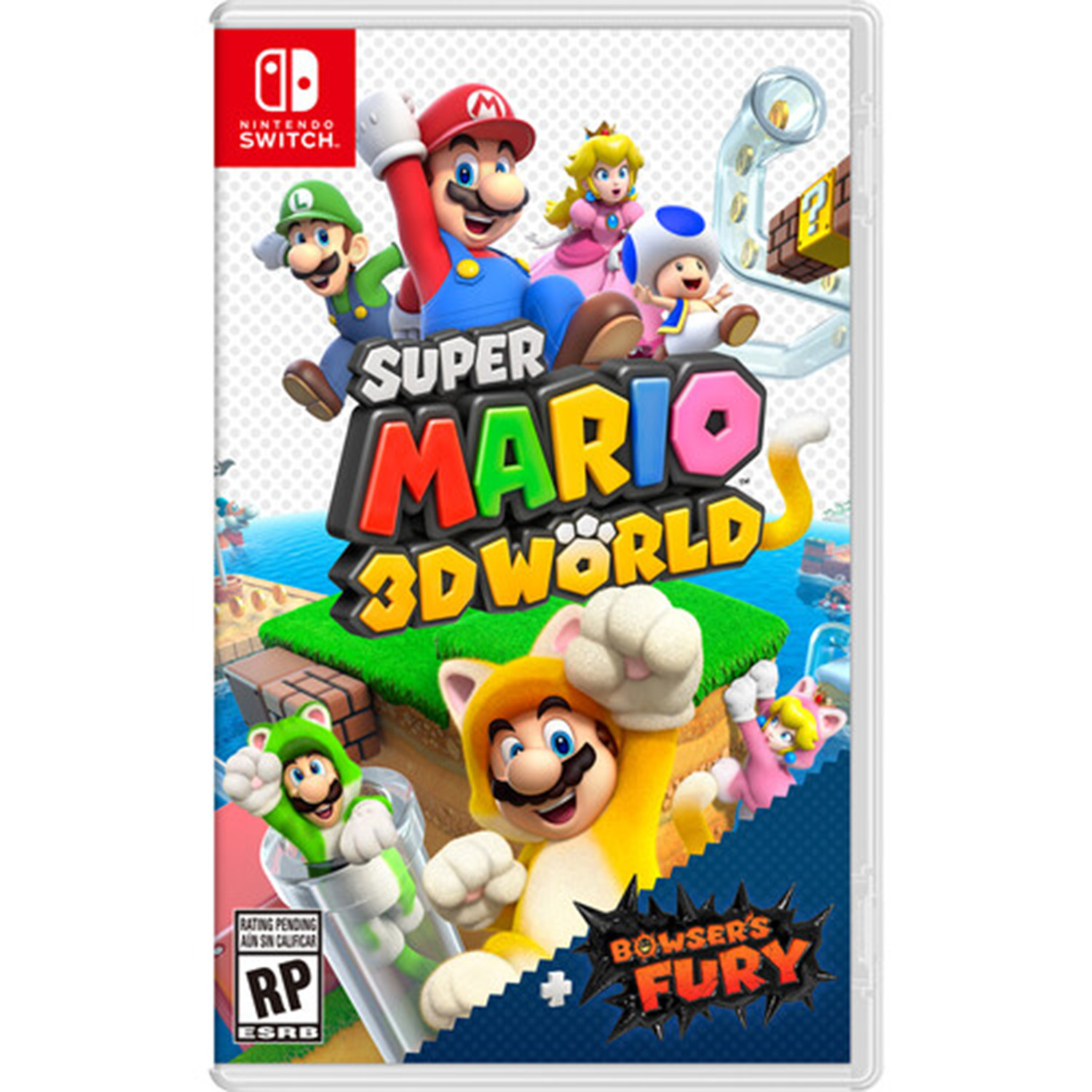 miniature 8 - Nintendo Switch Gaming Console Bundle with Super Mario 3D World + Bowser's Fury