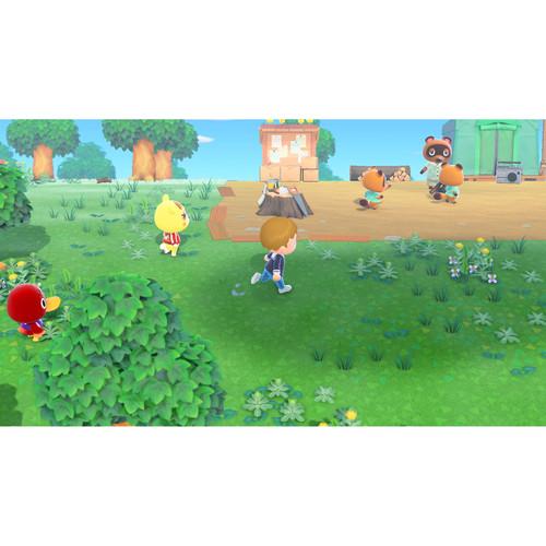 miniature 20 - Nintendo Switch Lite Console Bundle with Animal Crossing + Fiber Cloth