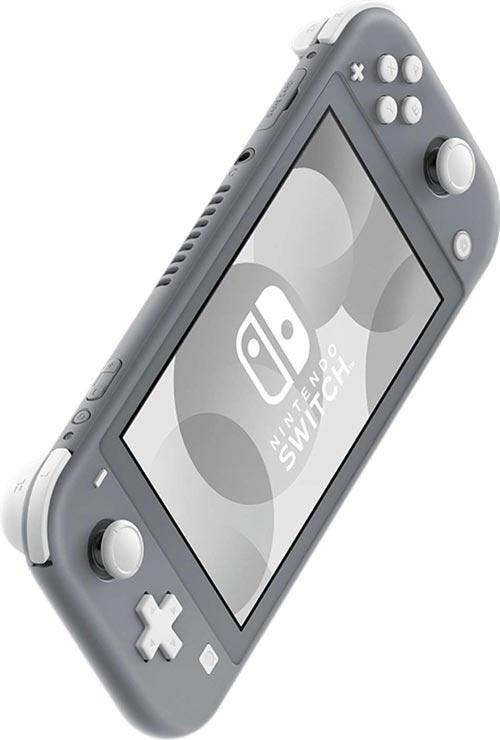 miniature 10 - Nintendo Switch Lite Console Bundle with Animal Crossing + Fiber Cloth