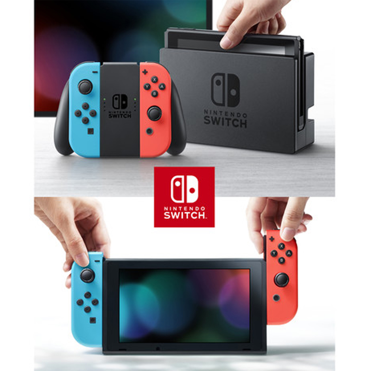 miniature 23 - Nintendo Switch Gaming Console Bundle with Super Mario 3D World + Bowser's Fury