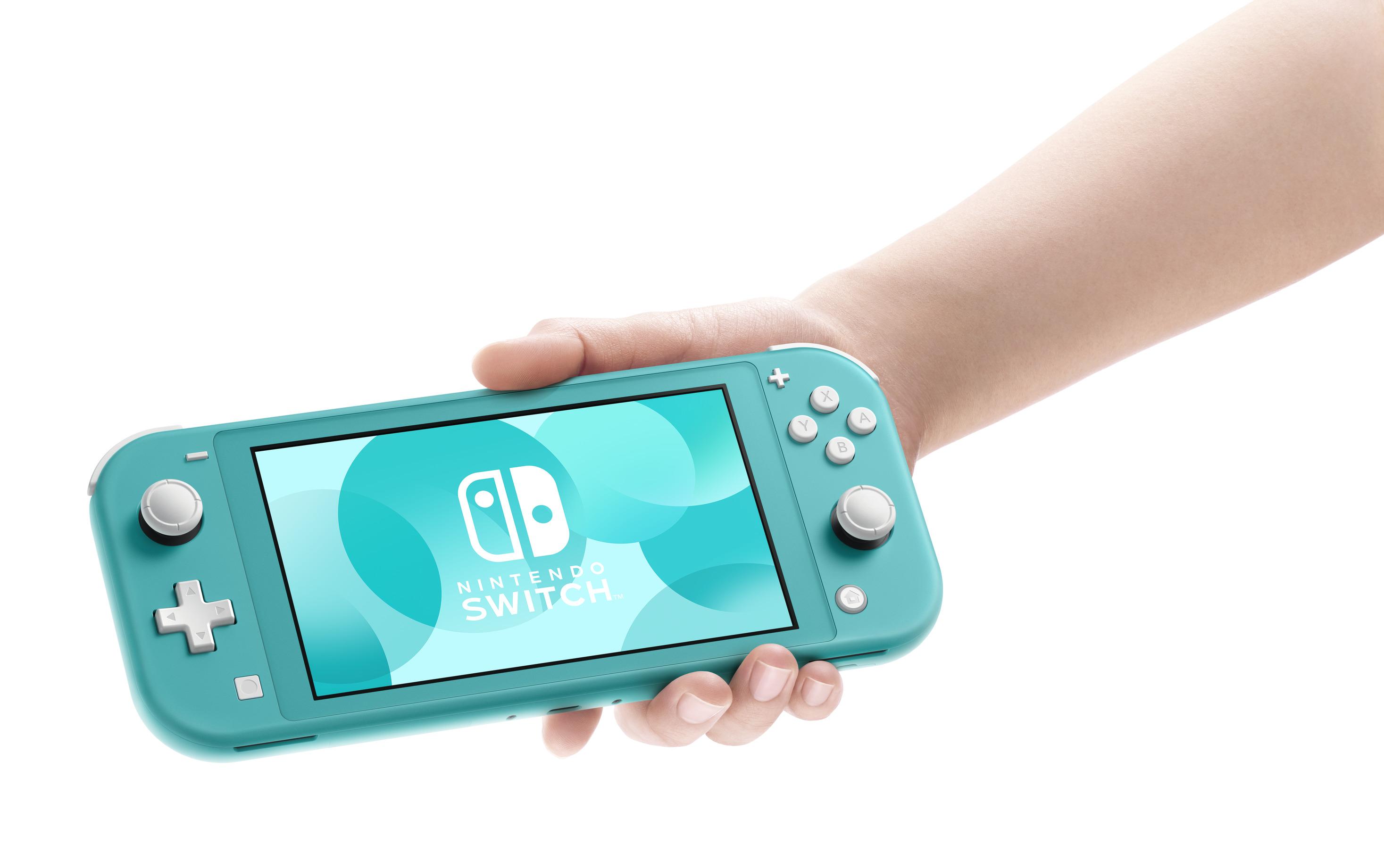 miniature 15 - Nintendo Switch Lite Console Bundle with Animal Crossing + Fiber Cloth