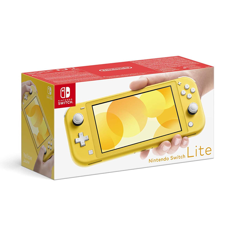 miniature 18 - Nintendo Switch Lite Console Bundle with Animal Crossing + Fiber Cloth