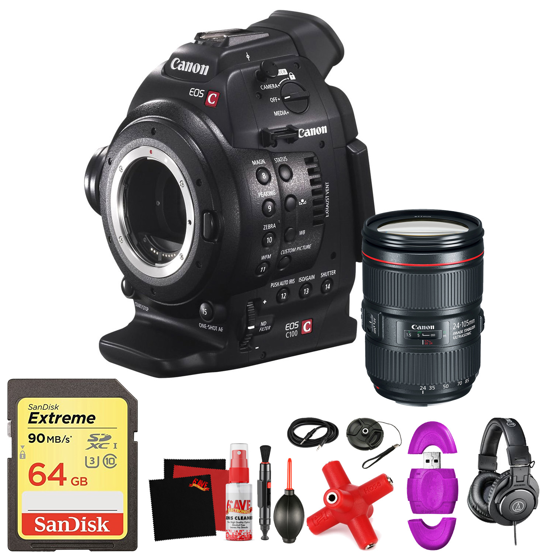 eos c100 cinema eos camera dual pixel