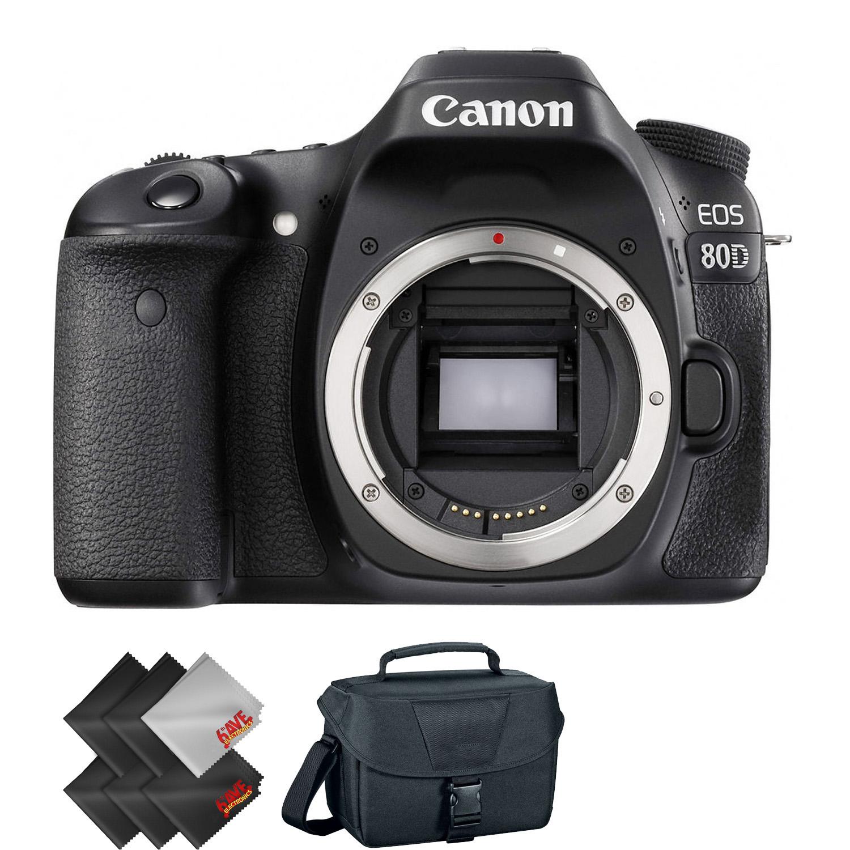 Canon EOS 80D DSLR Camera  + 2 Year Accidental Warranty